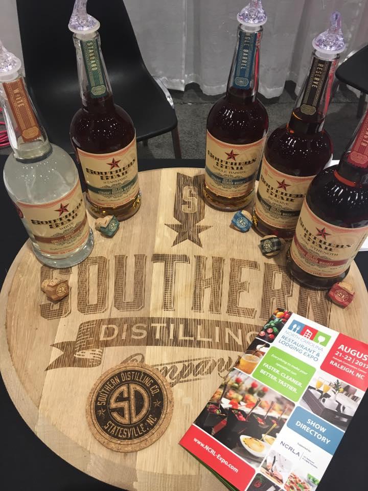 Southern Distilling Company Manufactured In North Carolina